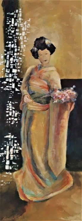 Lynn Martin - Poised with Flowers