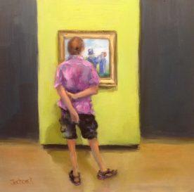Lydia Jechorek - Admiring Van Gogh