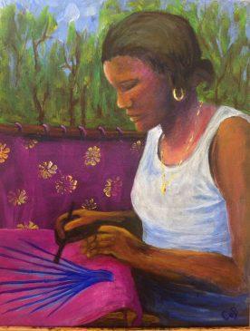 Claire Bentley - Batik Artist