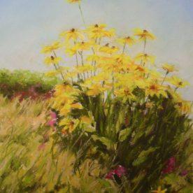 Teresa T. Brunson - CALIFORNIA FLOWERS IN PASTEL