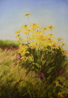 Teresa T. Brunson - CALIFORNIA FLOWERS IN PASTEL