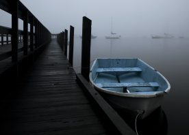 John J. Young - Dockside on a Foggy Morning 2 R