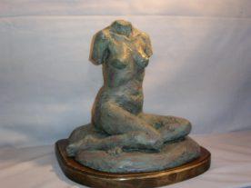 Francesca Di Lorenzo - Female Torso - Terra Cotta