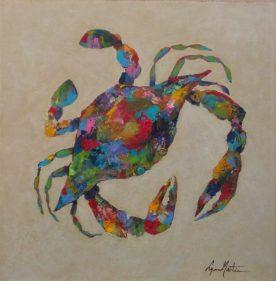 Lynn Martin - Kaleidoscope Crab