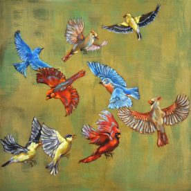 Susan Lawrence Norman - Leaving the Feeder