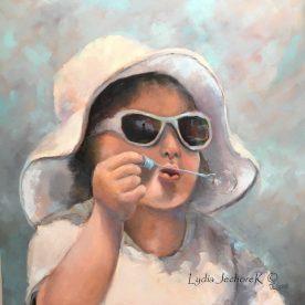 Lydia Jechorek - Blowing Bubbles