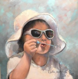 Lydia Jechorek - Blowing Bubbles