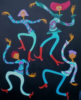Charla Wilkerson - March Dancers