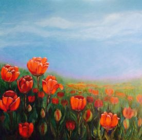 Jackie Perry - Red Tulip