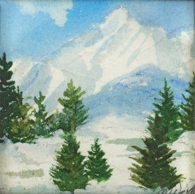 MARCIA WEIDLER - Teton Mountains