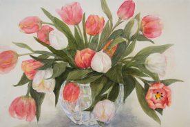 KARIN SEBOLKA - Twirling Tulips