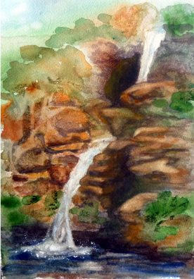 Claire Bentley - Waterfalls - NY