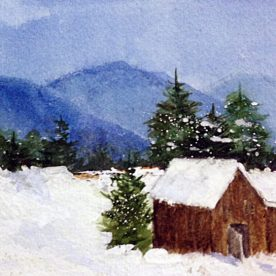 MARCIA WEIDLER - Winter Barn