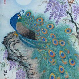 Darlene Kaplan - Peacock Wisteria
