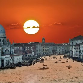 Rick Reda - Sunset on the Grand Canal