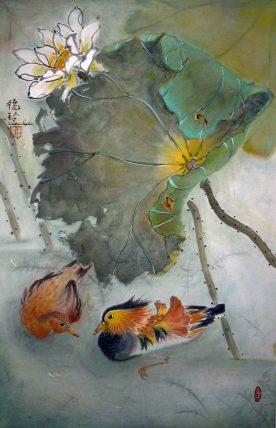 Darlene Kaplan - Swimming Around