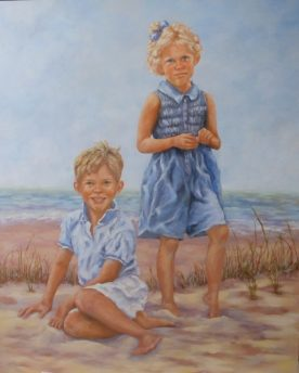 Susan Lawrence Norman - twins