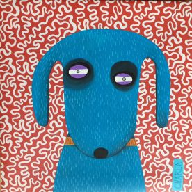 Charla Wilkerson - Blue Dog