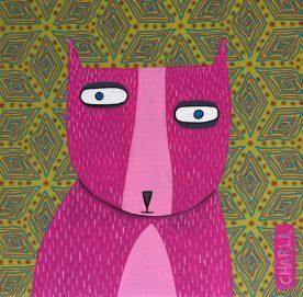 Charla Wilkerson - Pink Tuxedo Kitty