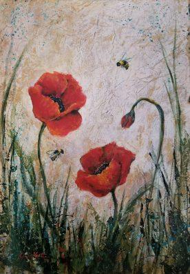 Lynn Martin - Poppies n Bees