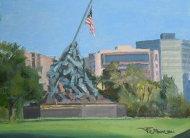 Rich Moore - Iwo-Jima-August Morning
