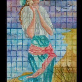 Linda Lovell - June Sea Glass Series - Watercolor