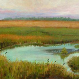 Linda Lovell - Ethereal Marshland - Oil