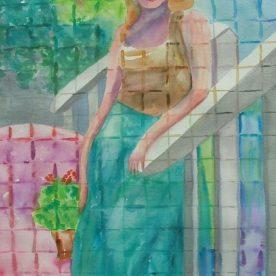 Linda Lovell - May Sea Glass Series - Watercolor