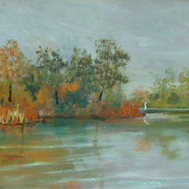Linda Lovell - The Creek - Oil