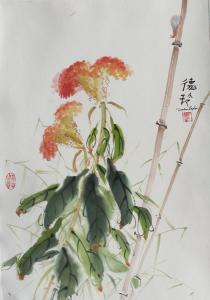 Chinese Watercolor - Darlene Kaplan