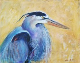 Heron Profile - Lynn Martin