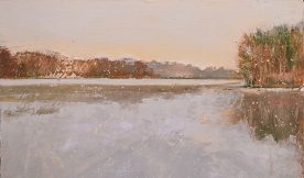 Rich Moore - Morning Lake Snow