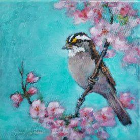 White Throated Sparrow - Lynn Martin