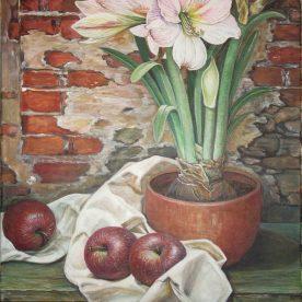 Amaryllis & Apples - Chong Teasley