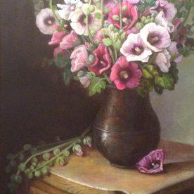 Flowers in Antique Vase - Chong Teasley
