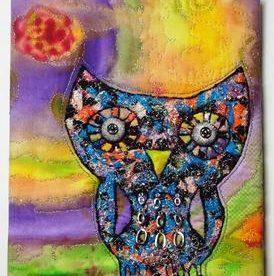 Metallic Owl - Marisela Rumberg