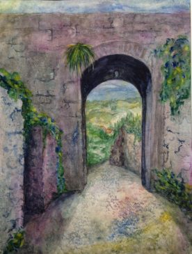 Claire Bentley - Monteriggioni Arch