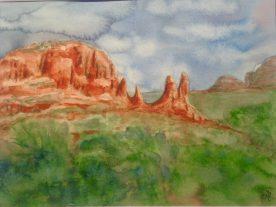 Claire Bentley - Sedona Landscape