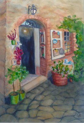 Claire Bentley - Welcome Monteriggioni